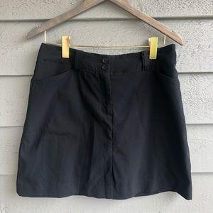 Nike Dri Fit Black Golf Skirt with Shorts 8